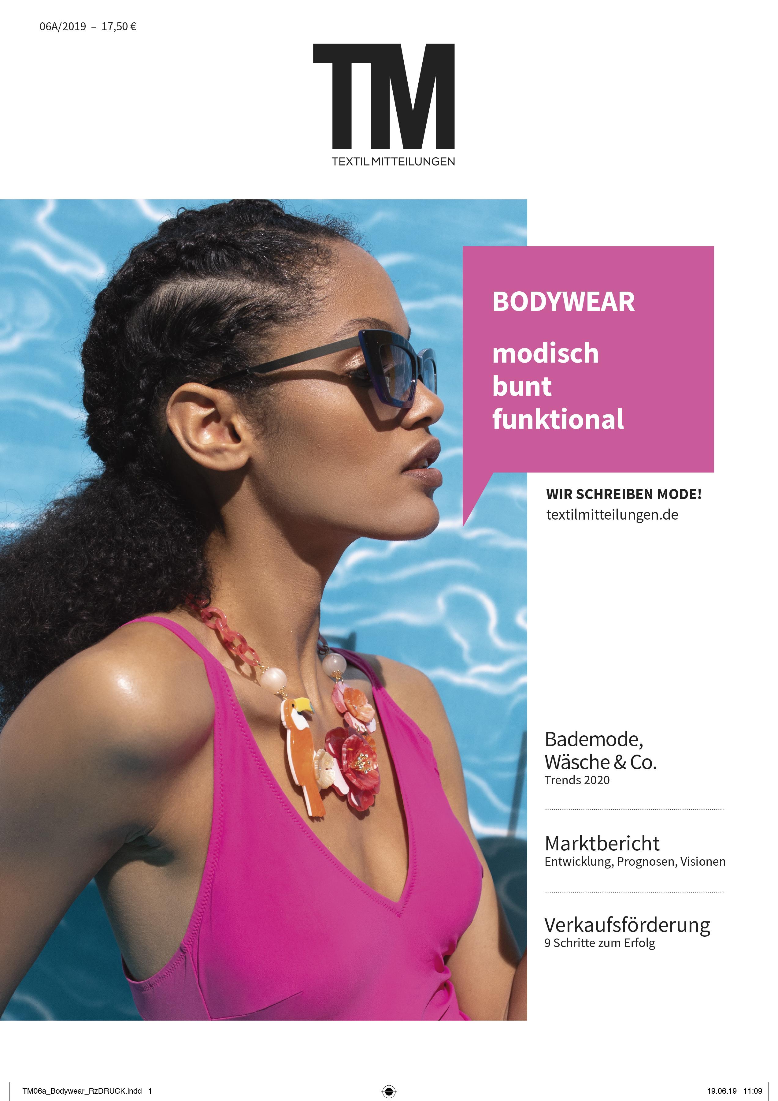 TextilMitteilungen, Issue 05/19,  Plein Soleil