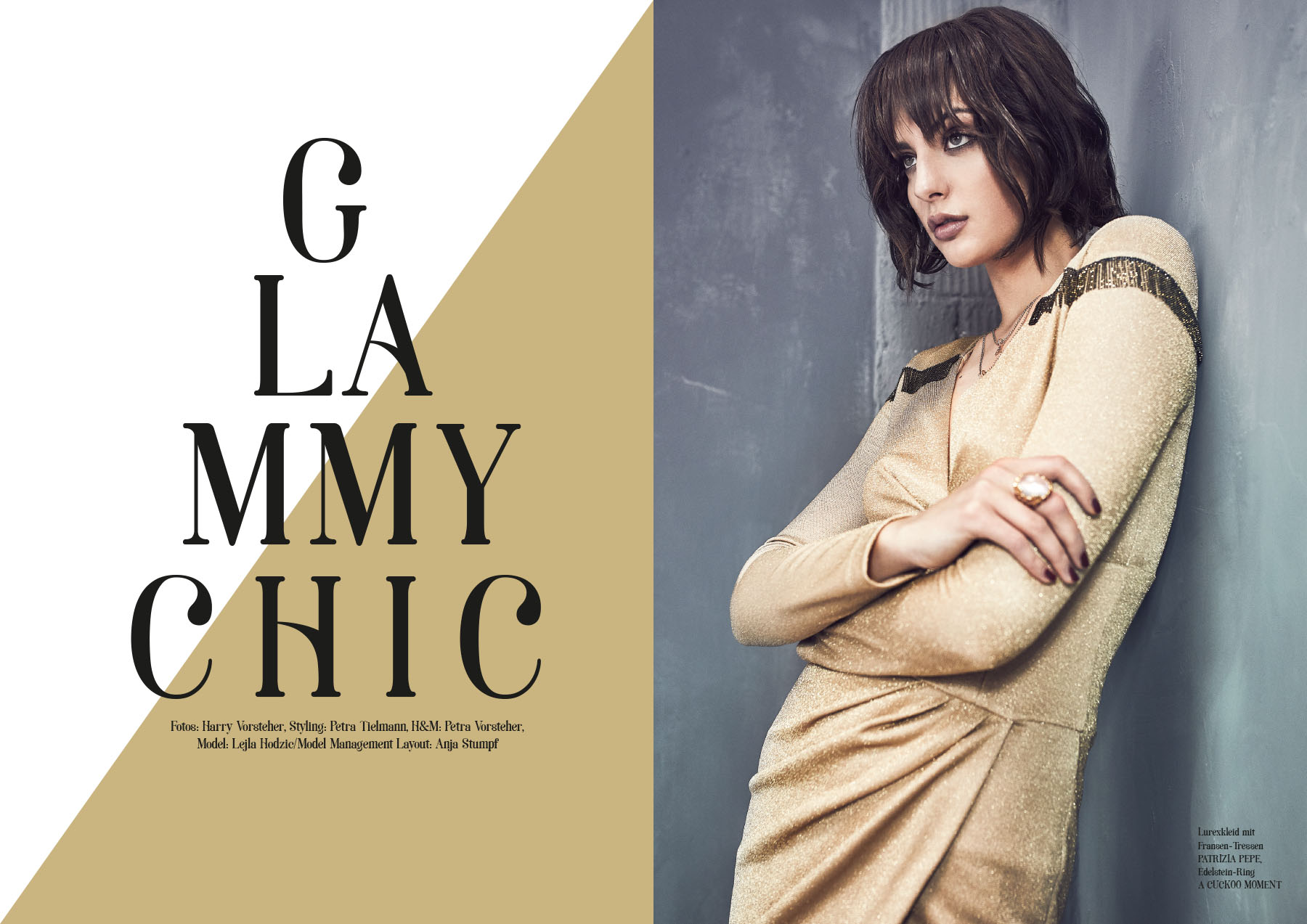 Editorial – Glammy Chic