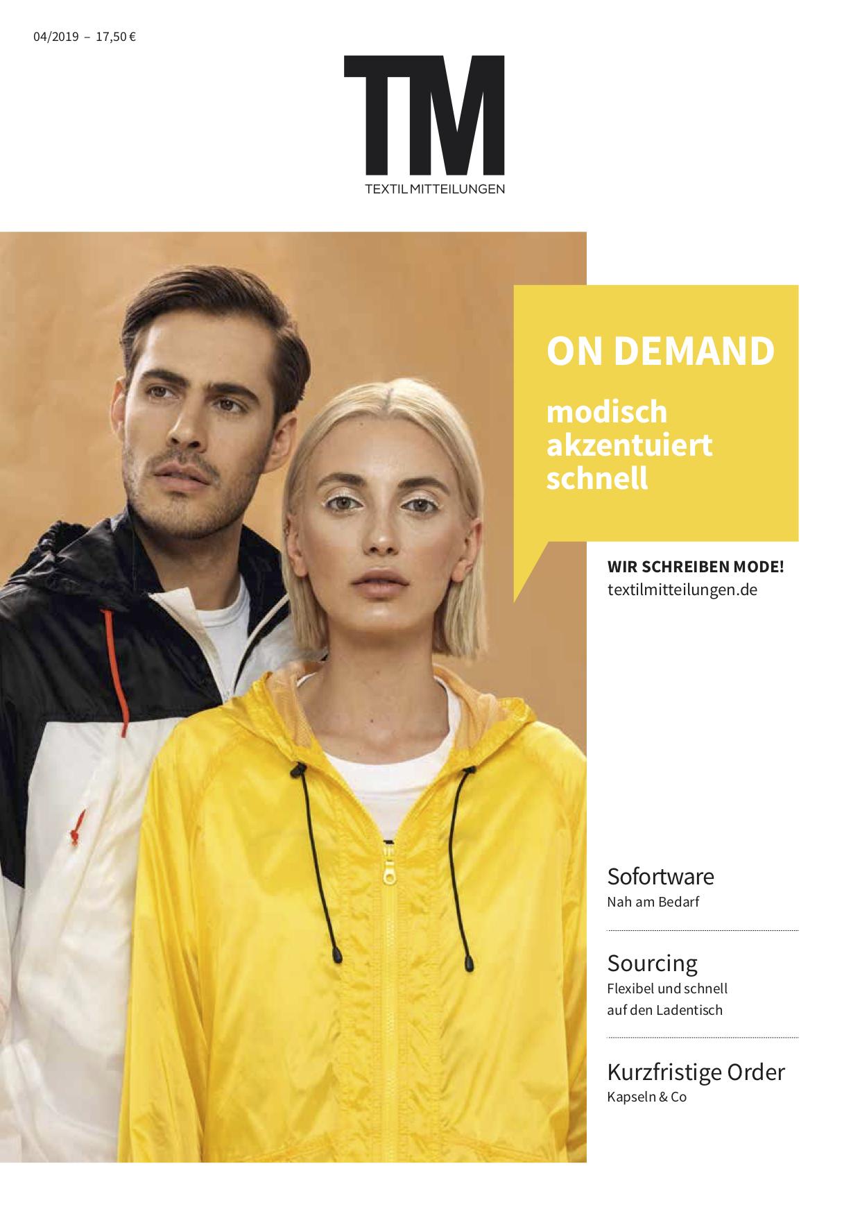 TextilMitteilung, OnDemand